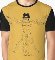 Basquiat Pop Vitruvius Graphic T-Shirt