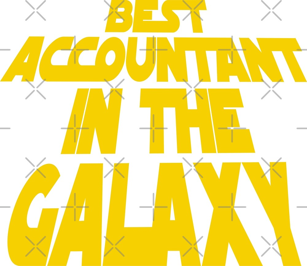 Best Accountant in the Galaxy by MBK13