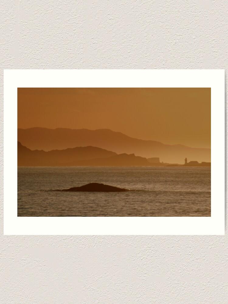 Alternate view of Fladda Lighthouse Art Print