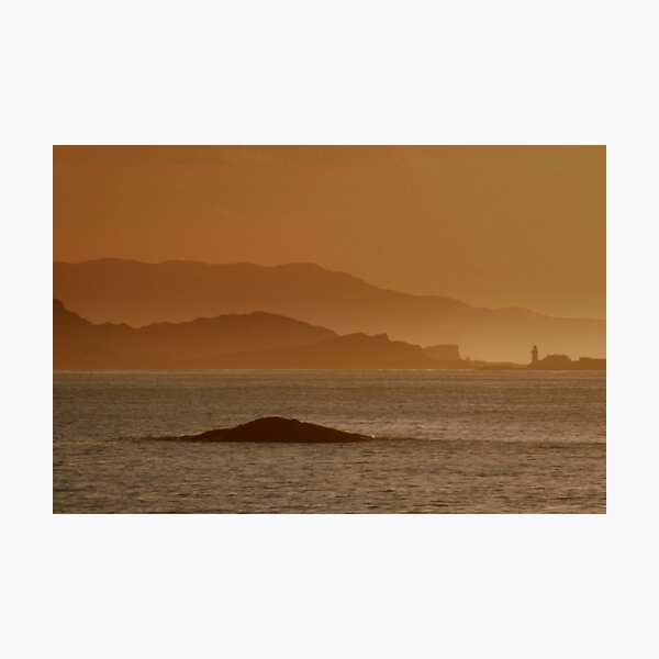Fladda Lighthouse Photographic Print