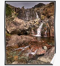 Waterfall on Stickle Ghyll Poster