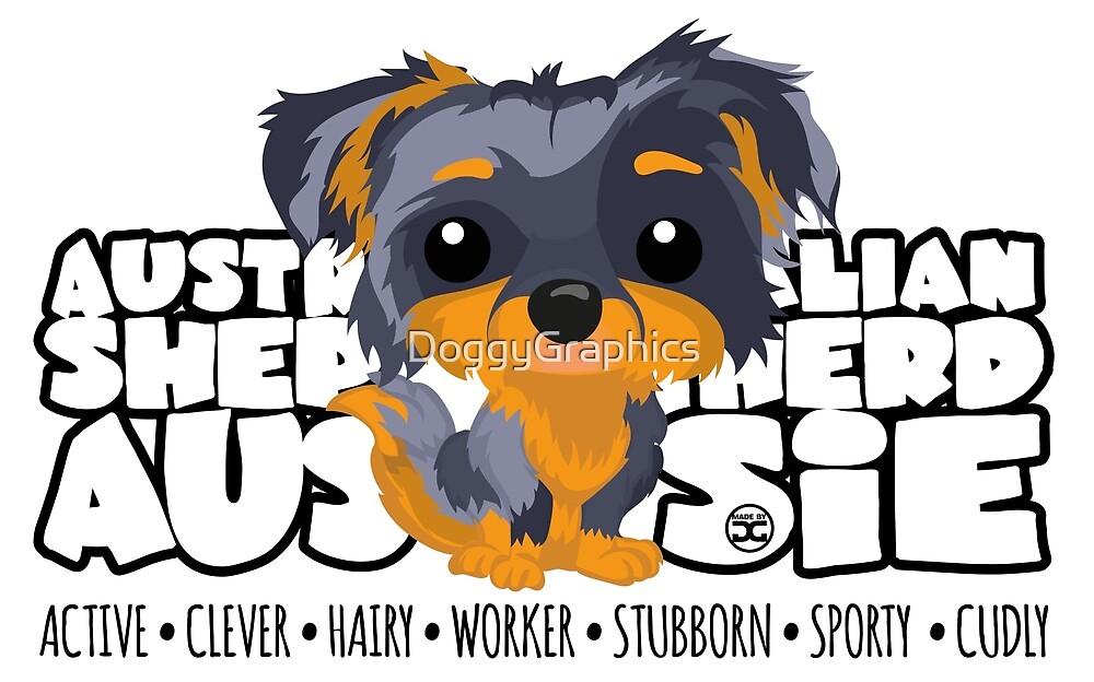 DGBigHeads - Aussie Merle Tan by DoggyGraphics