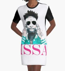 21 savage Issa Album Graphic T-Shirt Dress