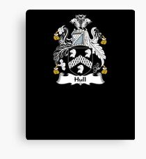 Hull Coat of Arms - Family Crest Shirt Canvas Print