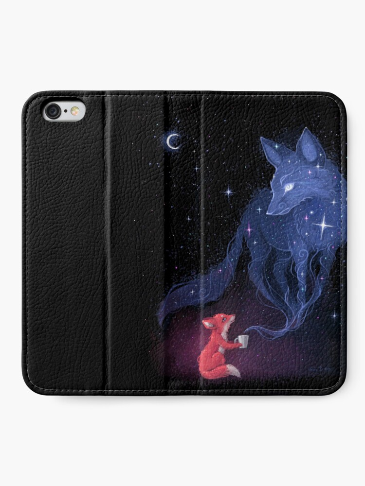 Alternate view of Celestial iPhone Wallet