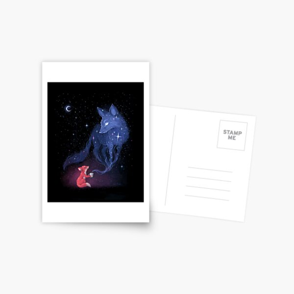 Celestial Postcard