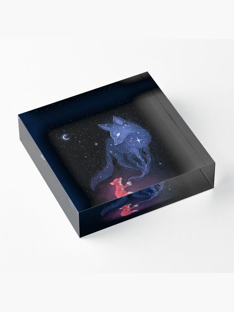 Alternate view of Celestial Acrylic Block