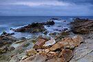 A moody morning at the sea by Patrick Morand