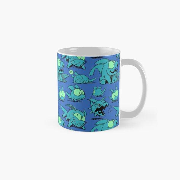 Chewster - Land Sharks - Blue/Green Pattern Classic Mug