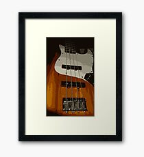 Bass Guitar Framed Print