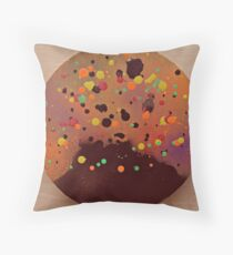 Volcanic Eruption Throw Pillow