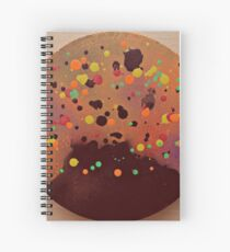 Volcanic Eruption Spiral Notebook
