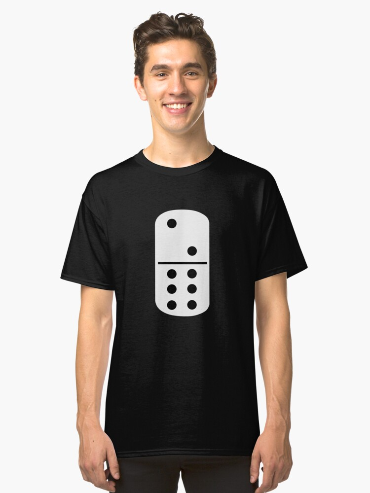 Domino Games Classic T-Shirt Front