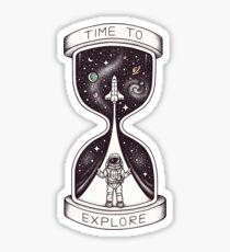 Time to Explore Sticker
