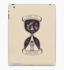 Vinilo o funda para iPad Tiempo para explorar