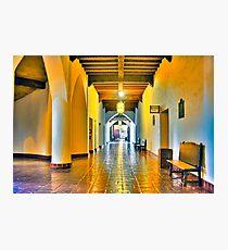 Santa Barbara Courthouse Photographic Print