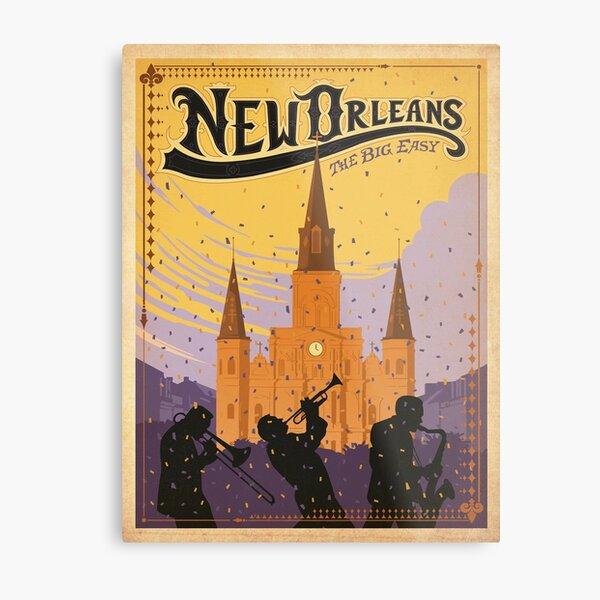 Vintage poster - New Orleans Metal Print