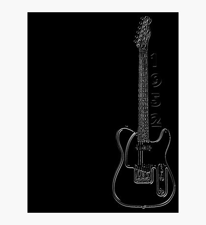 telecaster glowstring Photographic Print