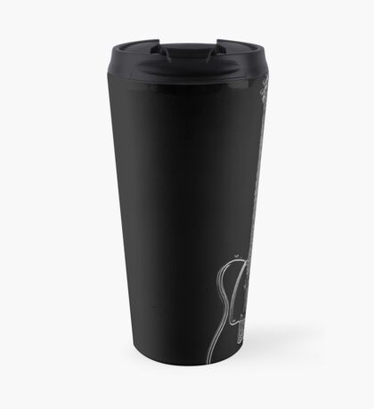telecaster glowstring Travel Mug