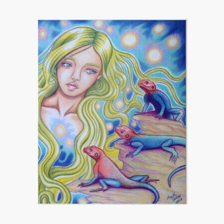 Agama Dream Art Board Print