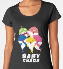 Baby Shark Shirt - Gift Women's Premium T-Shirt