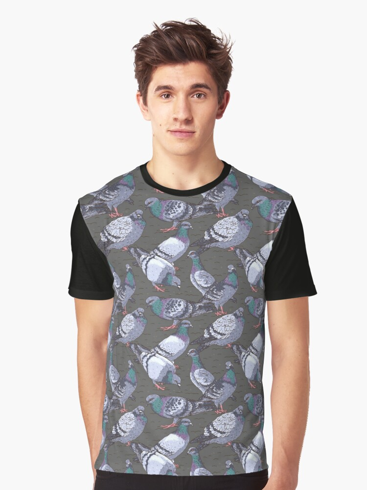 Urban pattern Graphic T-Shirt Front