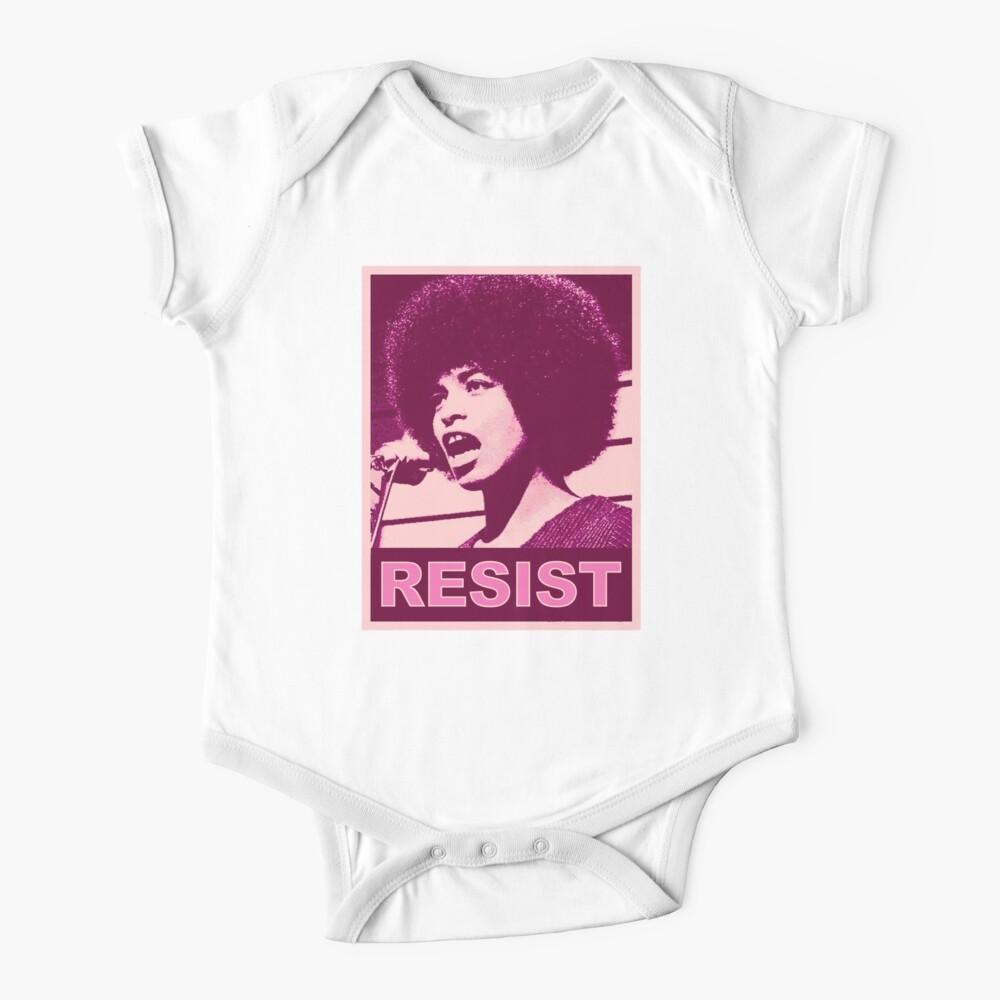 Angela - Resist (plum) Baby One-Piece