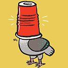 «Pigeon in a Party Cup» de Theysaurus