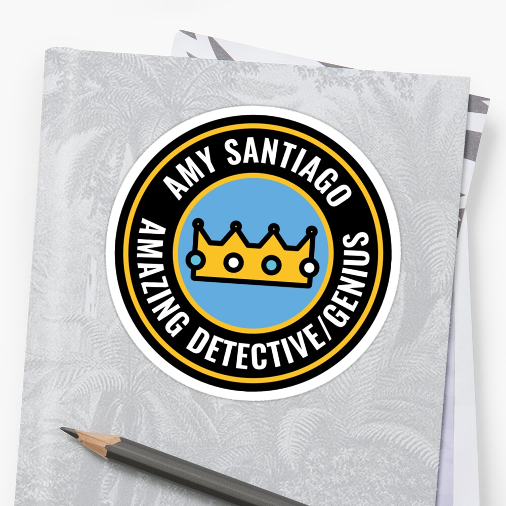Amy Santiago is an amazing detective/genius by matinga
