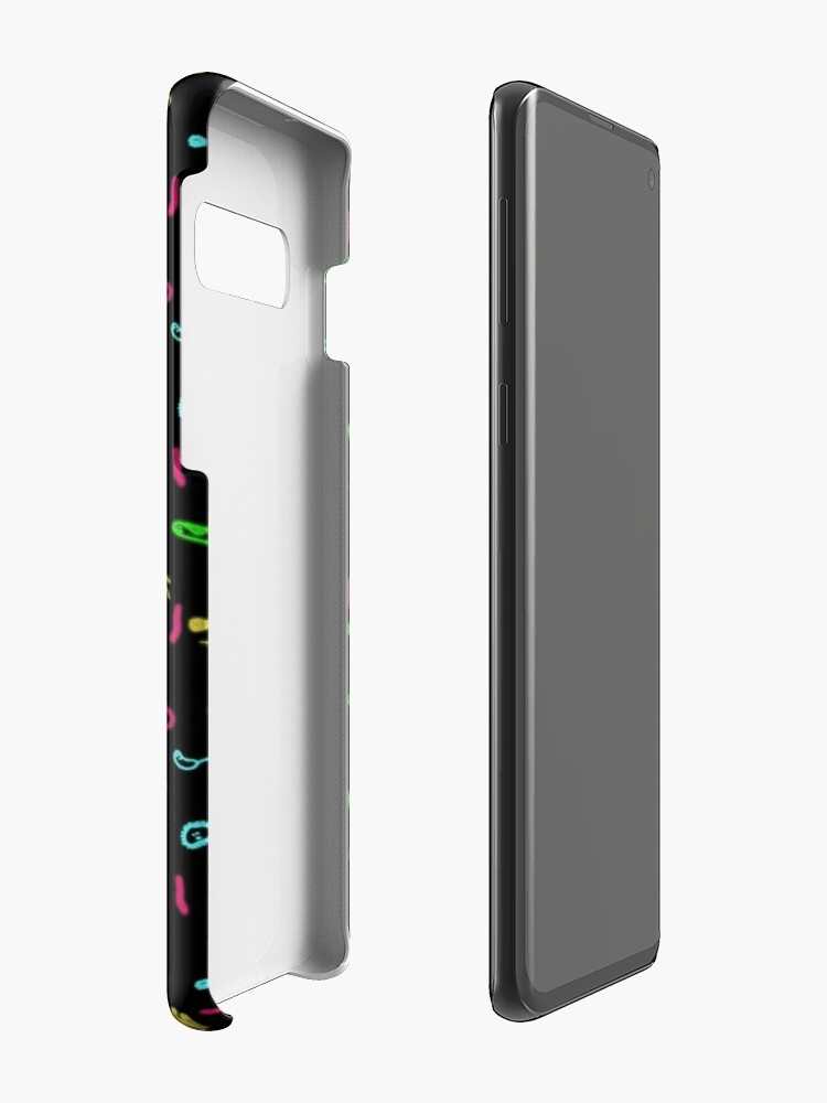 Alternate view of Fluorescent Microbes Case & Skin for Samsung Galaxy