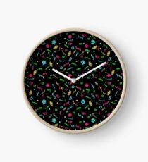 Fluorescent Microbes Clock