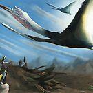 Quetzalcoatlus by UmbreoNoctie