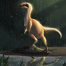 Sinosauropteryx by UmbreoNoctie