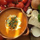 Cream of Tomato and Basil Soup by John Hooton