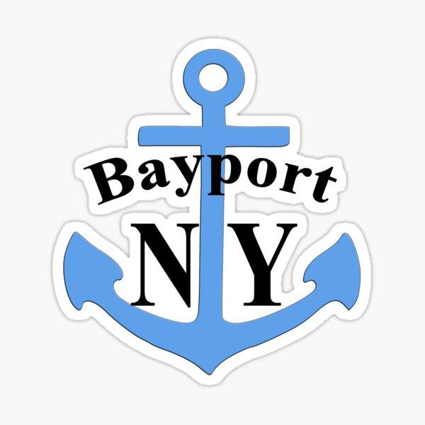 Bayport, NY Anchor - Hardy Boys Sticker