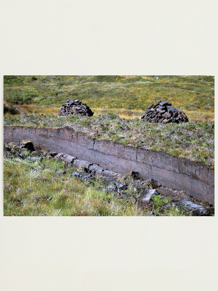 Alternate view of Peat-Stacks Photographic Print