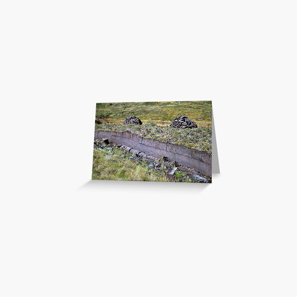 Peat-Stacks Greeting Card