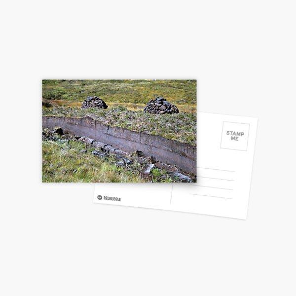 Peat-Stacks Postcard