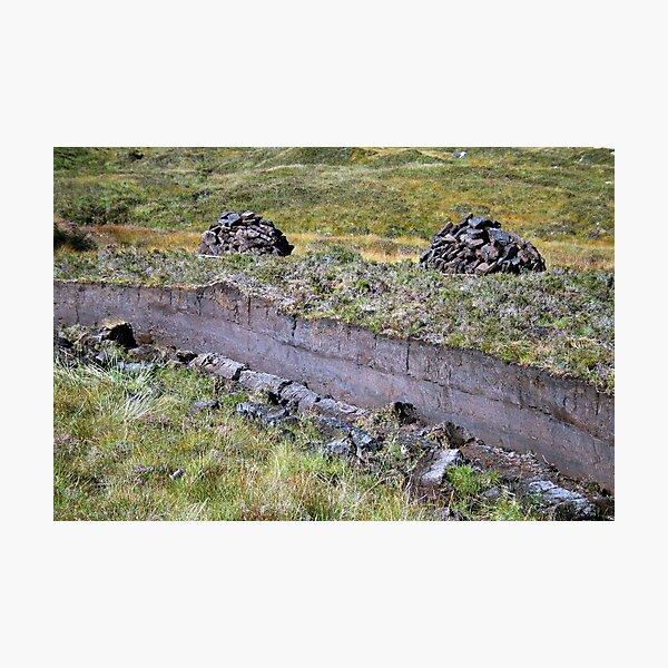 Peat-Stacks Photographic Print
