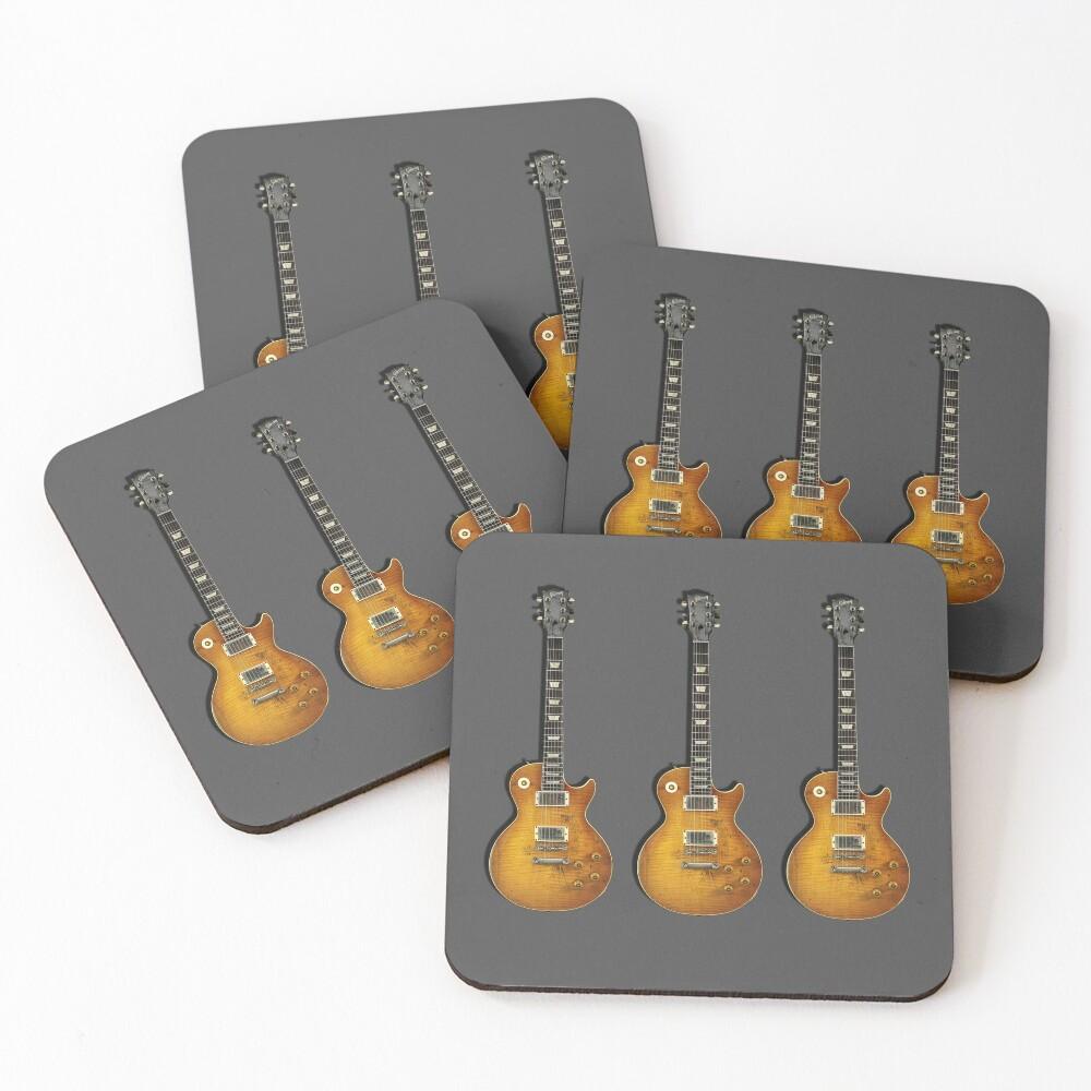 Les Paul Standard Guitar Coasters (Set of 4)