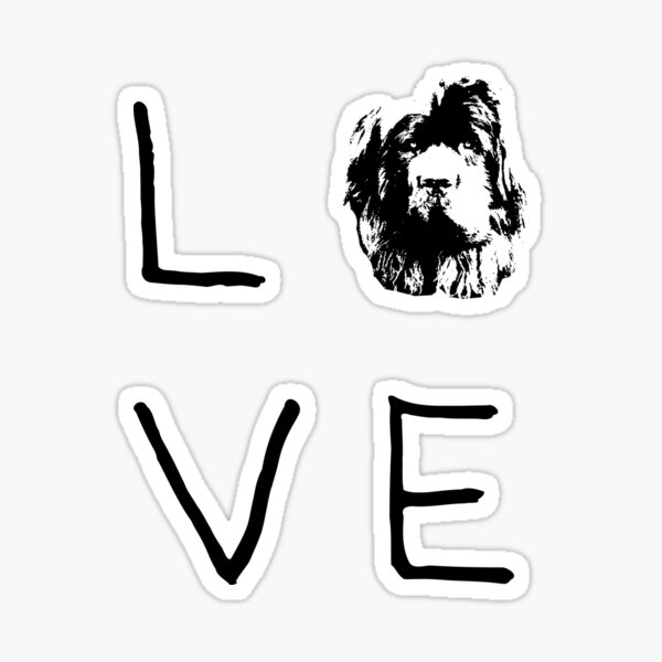 Newfoundland Love  Sticker