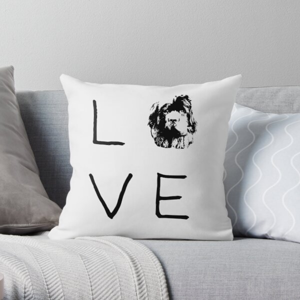 Newfoundland Love  Throw Pillow