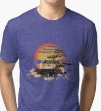 Japan art Tri-blend T-Shirt