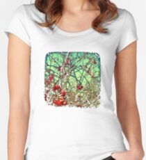 Blossom Frenzy - TTV Women's Fitted Scoop T-Shirt