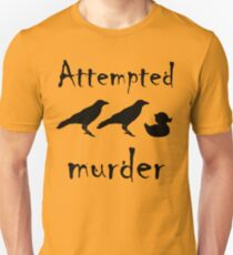 Attempted Murder - Crow Slim Fit T-Shirt