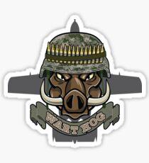 Wart Hog Sticker