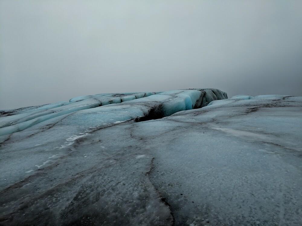 Iceland Glacier by GWJ1993