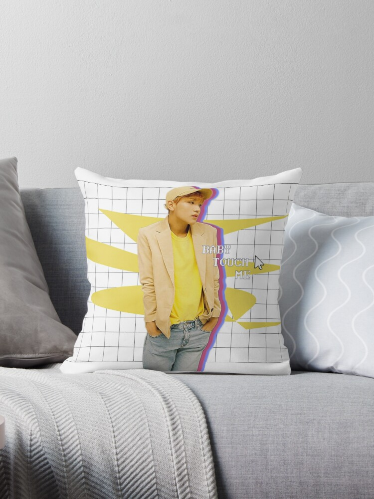"""Touch"", Haechan Pillows by seuril"
