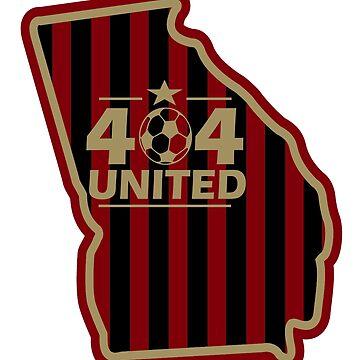 404 United Atlanta Soccer by RadTechdesigns