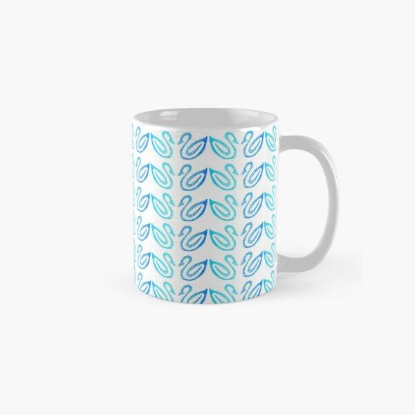 Swan Pattern Classic Mug